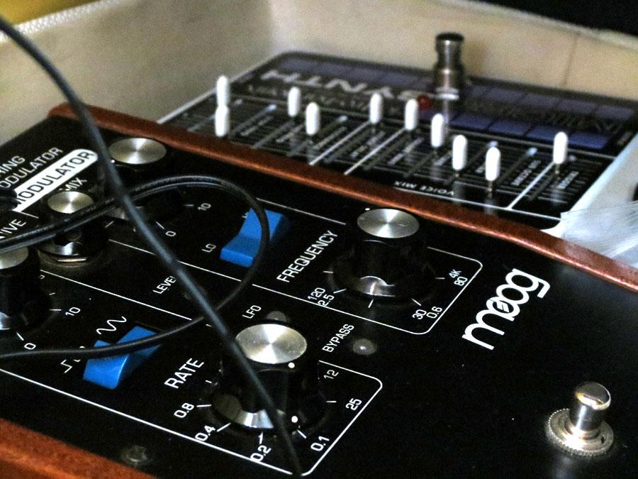 The Pedal File - Moog Moogerfooger MF102 Ring Modulator & Electro Harmonix Micro Synth