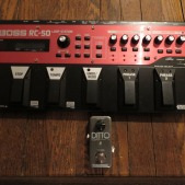 The Pedal File - Loopers: Boss RC-50 & TC Electronic Ditto Looper