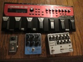 The Pedal File - some pedals: Boss RC-50, TC Electronic Ditto Looper, Earthquaker Devices Sea Machine, Earthquaker Devices Disaster Transport SR