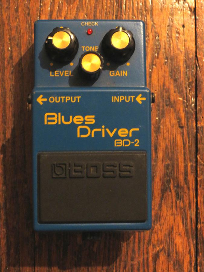 The Pedal File - Boss Blues Driver