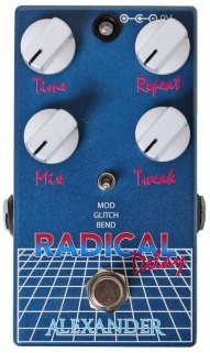The Pedal File - Alexander Pedals Radical Delay