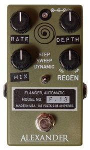 The Pedal File - Alexander Pedals F.13 Flanger