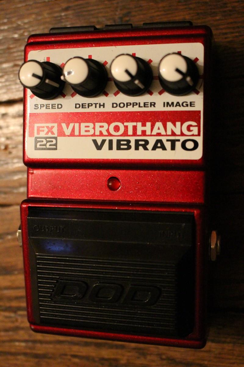 The Pedal File - DOD Vibrothang