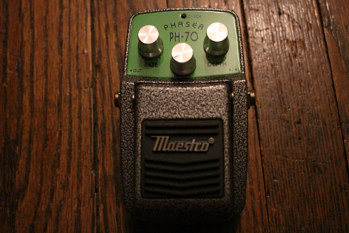 The Pedal File - Maestro Phaser